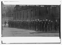 Harvard University drill squad (LOC)