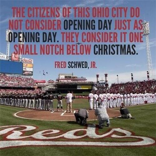 Reds Opening Day!