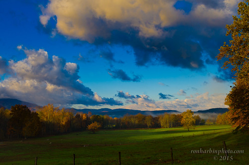 Morning Creeping In-Cades Cove