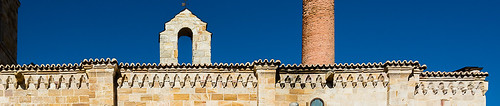 Iglesia de Santa María de la Horta. Detalle de los modillones