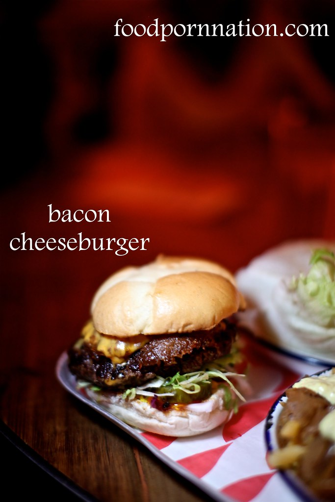 Bacon Cheeseburger - MEATliquor - Marylebone - London Food Blog