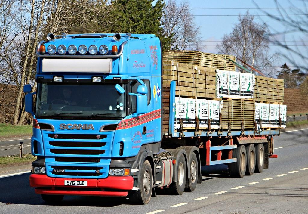 Aberdeenshire LKW Fotos