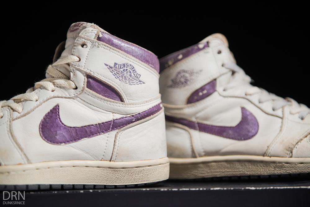 1985 Metallic Purple & White I's.