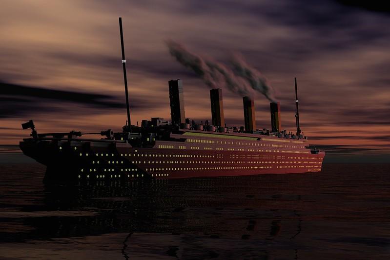 Titanic S Maiden Voyage Special Lego Themes Eurobricks