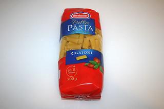 02 - Zutat Rigatoni / Ingredient rigatoni