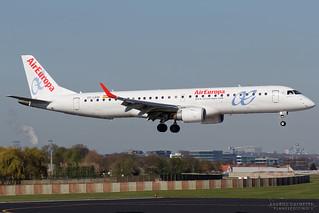 EC-LKM, Air Europa Embraer EMB-190, BRU