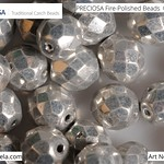 PRECIOSA Fire-Polished Beads - 151 19 001 - 00030/27000