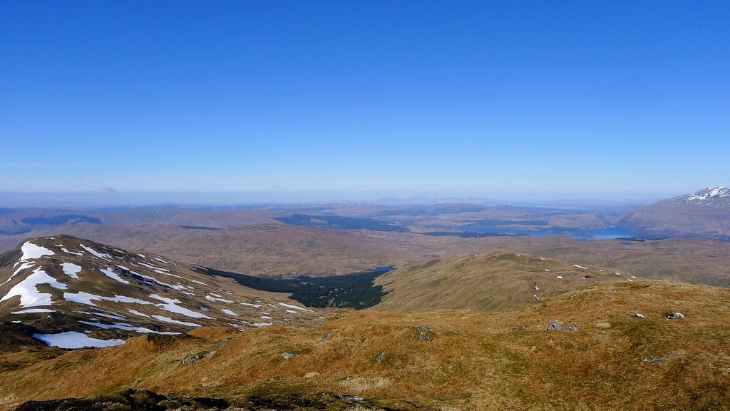 West to Loch Awe from Beinn Bhuidhe