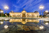 Wet Mirror on Petit Palais by night