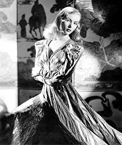 Vintage WWII Pinup Photo Veronica Lake