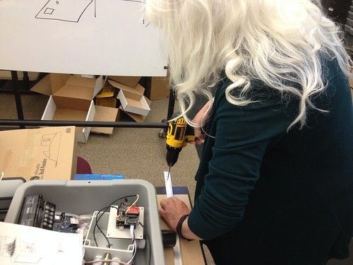 X-Carve Build Day 2 - Jennifer Drilling
