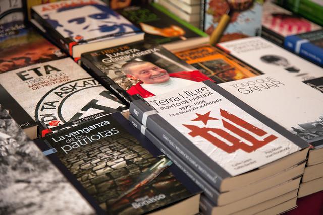 Mercat del llibre de la fira Literal 2016