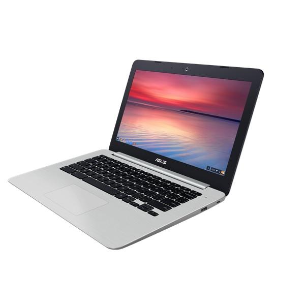 Un chromebook Asus C301 sous linux sur le site du chromebookeur