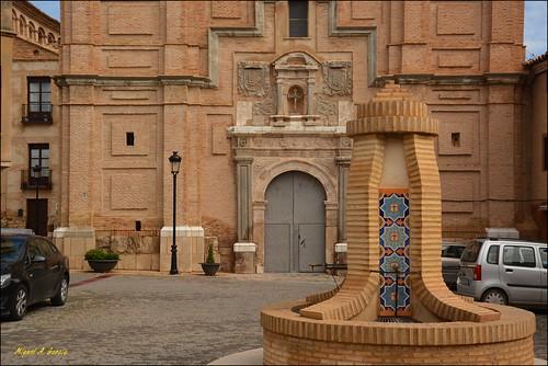 Iglesia de la santa Cruz.Bureta. Zaragoza.