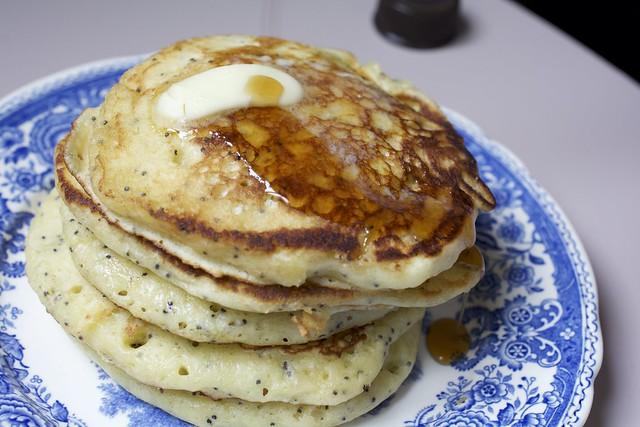 Pancakes citron pavot