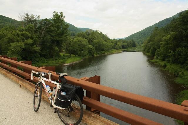 biking across PA