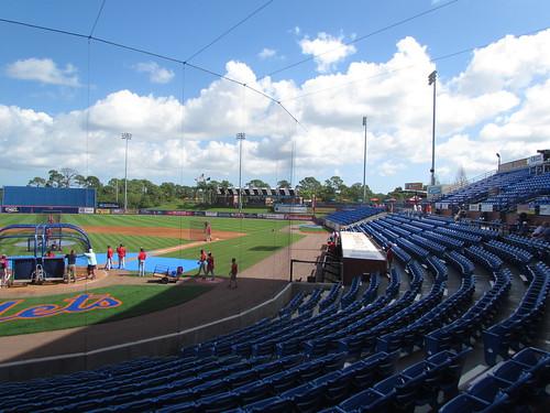 baseball florida stadium fl ballpark springtraining newyorkmets portstlucie nymets baseballpark grapefruitleague traditionfield 031415 newyorkmetropolitans nymetropolitans baseball15 canonpowershotsx30is