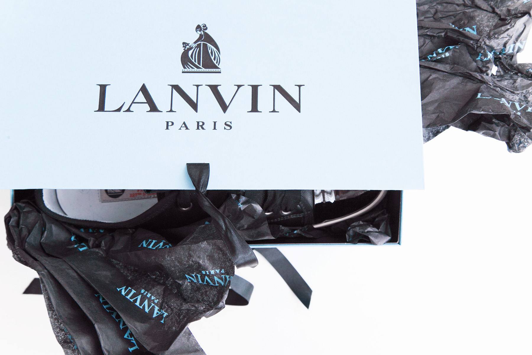 Lanvin sneakers by Carin Olsson (Paris in Four Months)