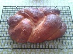dessert(0.0), baking(1.0), bread(1.0), baked goods(1.0), ciabatta(1.0), challah(1.0), food(1.0), brioche(1.0),