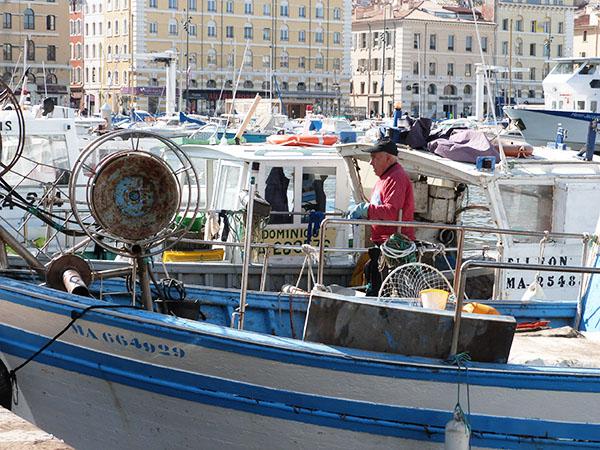 le retour du pêcheur