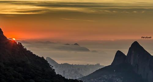 brazil brasil riodejaneiro sunrise natureza alvorada pedrabonita nascerdosol rampadevoolivre