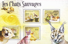Philately, WildCats-Sets - 086a