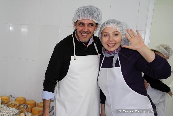 31 - Невероятные приключения москвичек в Каштелу Бранку - quinta - мастер-класс по приготовлению сыра (традиционного португальского)