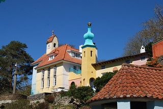 Buildings at Portmeirion