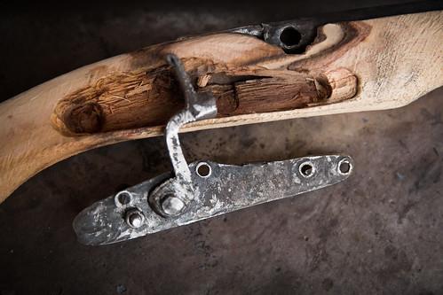 A handmade gun, Adamawa, Nigeria