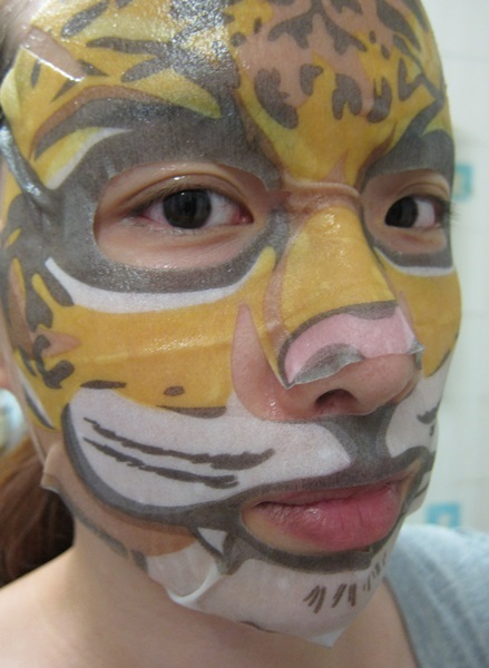 SASA SNP 動物面膜系列 4,莎莎SASA,韓國,SNP,動物面膜系列,mask,老虎抗皺緊緻面膜 ,海獺保濕水漾面膜,熊貓美白亮肌面膜,神龍敏感舒緩面膜, 美容保養,