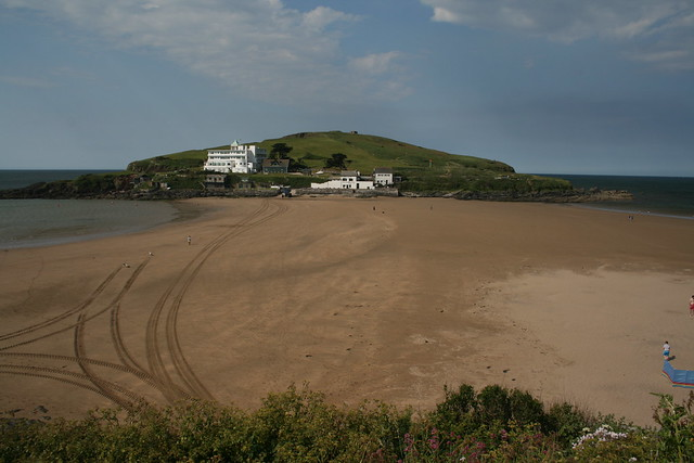 Burgh Island from Bigbury-on-Sea