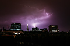 Stormy Southwark Roof