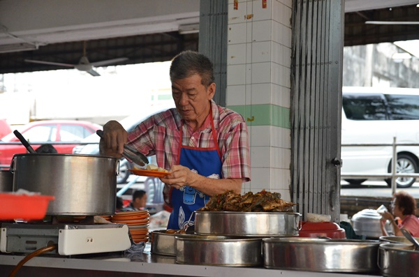 Seapark Teochew Porridge Uncle