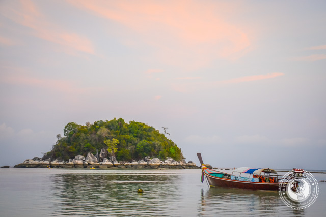 Longtail boat Koh Lipe Thailand