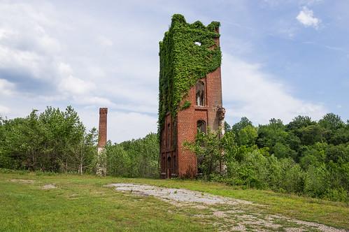 Glendale Mill ruins - 12