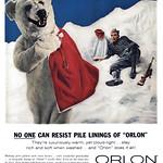Thu, 2016-05-05 10:27 - Orlon Acrylic Fiber, 1959 ad