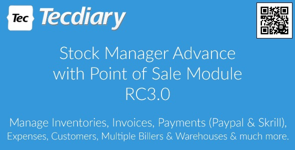 Stock Manager Advance with Point of Sale Module v3.0.2.23