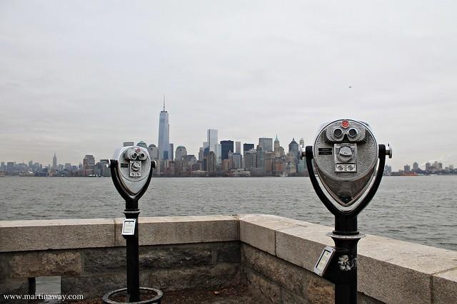 Manhattan dall'isola