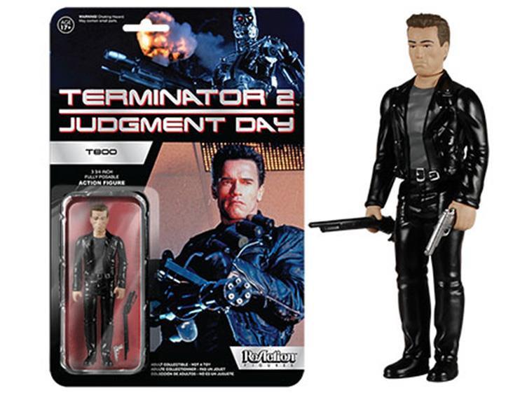 FUNKO X SUPER7 ReAction 系列【魔鬼終結者 2】Terminator 2 3.75吋 吊卡