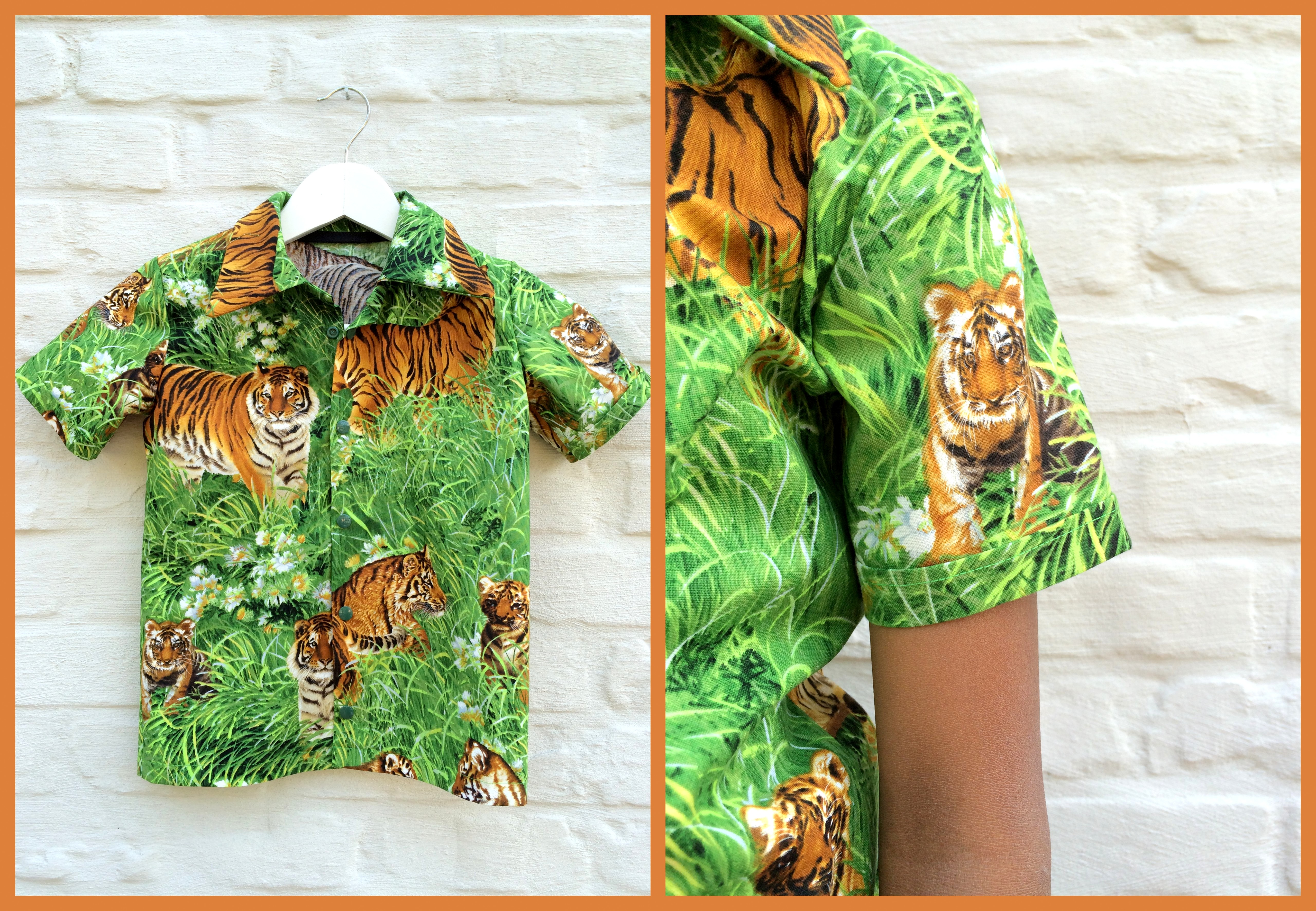 tiger shirt (collage2)