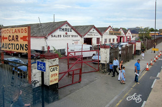 Car auction warehouses in Deptford