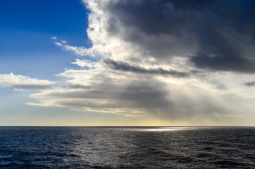 Dramatic skies of the Atlantic