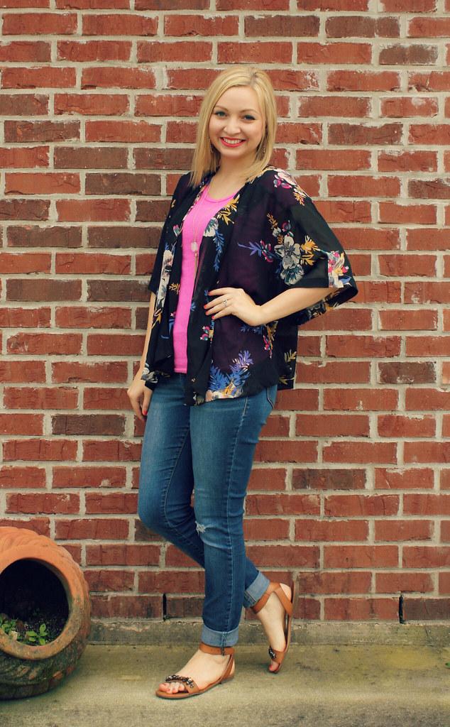 kimono spring outfit