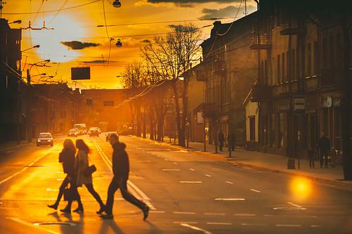 Sunset | Kaunas, Lithuania #96/365