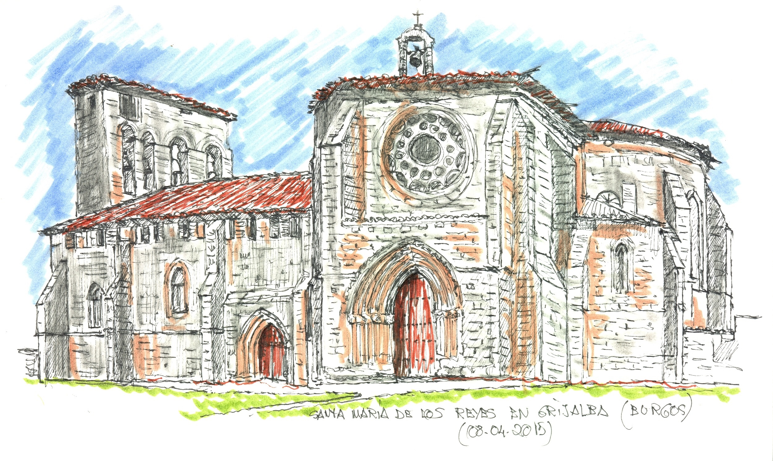 Santa María de los Reyes en Grijalba (Burgos)