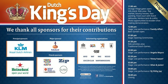 Dutch Kings Day LA 2015