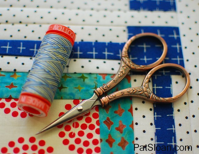pat sloan aurifil thread april 2015