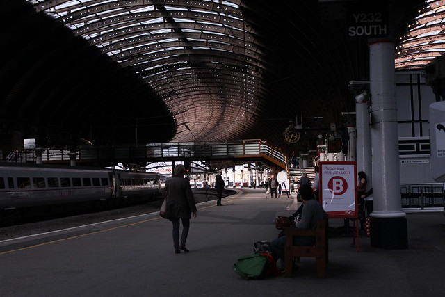 York train station