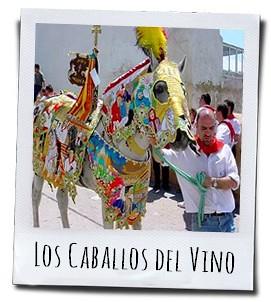 Het feest van de wijnpaarden in Caravaca de la Cruz