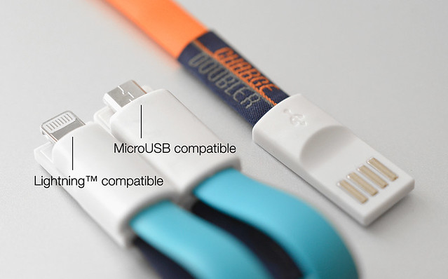 USB ChargeDoubler - Lightning or Micro USB